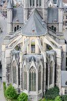 Church of St. Nicholas in Ghent, Belgium