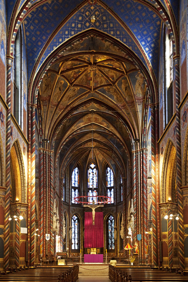 St. Mary's Basilica, Kevelaer, Lower Rhine,Germany