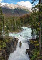 Sunwapta Falls, Jasper National Park, Alberta, Canada