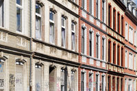 facades of old houses from the late nineteenth century in cologne ehrenfeld
