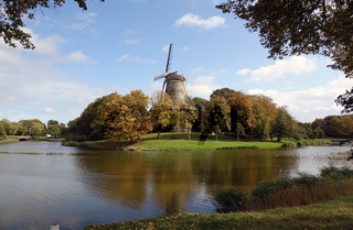 Windmühle De Seismolen in Middelburg