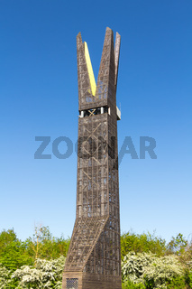 Aussichtsturm im Regionalpark RheinMain an den Weilbacher Kiesgruben