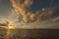Evening on the Atlantic Ocean