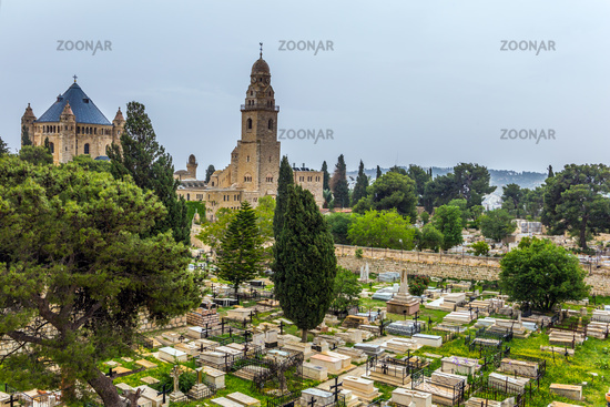 Christian temple and ancient cemetery
