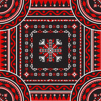 Romanian traditional pattern 218