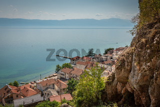 View over Radozhda on Lake Ohrid, Macedonia