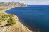 Bay on the Black Sea coast of Crimea.