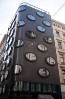 Wien, Oesterreich, Aussenansicht Hotel Topazz im Wiener Stadtzentrum