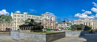 Constitution Square   in Kharkiv, Ukraine