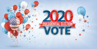 Vote 2020 USA Balloons Grape Sunbeam Header