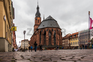 Church of the Holy Spirit, City Heidelberg, Baden-Wuerttemberg, Germany. Europe
