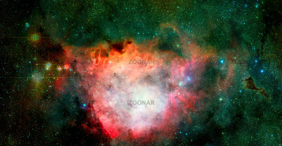 Infinite space background. Elements of this image furnished by NASA
