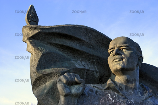 Ernst Thaelmann monument, Berlin, Germany