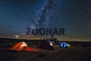 USA Arizona Alstrom Point in night
