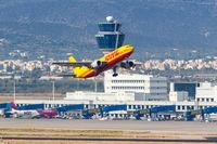 DHL European Air Transport Airbus A300-600F Flugzeug Flughafen Athen in Griechenland