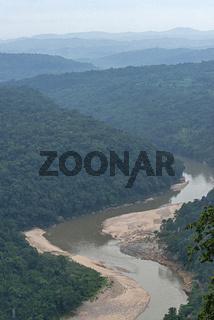 Karwani River, Garo Hills, Meghalaya, India