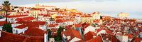 Traditional Lisbon, panorama