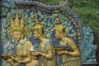 CAMBODIA PHNOM PENH WAT PHNOM PARK
