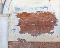 Peeling Off Bricks