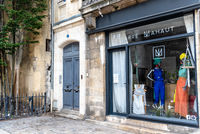 Picturesque luxury fashion store in Bordeaux, France