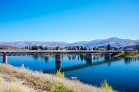 Lake Dunstan Bridge New Zealand