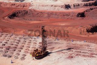 Iron ore mining 0