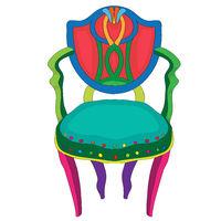 Postmodern Hepplewhite chair doodle
