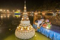 ASIA THAILAND SUKHOTHAI LOY KRATHONG,