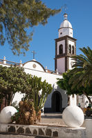 Iglesia de San Gines of Arrecife, Lanzarote, Spain
