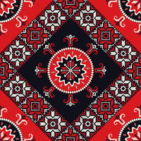 Romanian traditional pattern 120