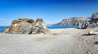 The beach Chiliadou in Evia, Greece