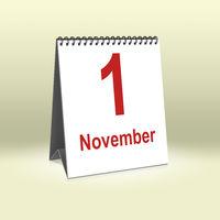 November 1st | 1. November