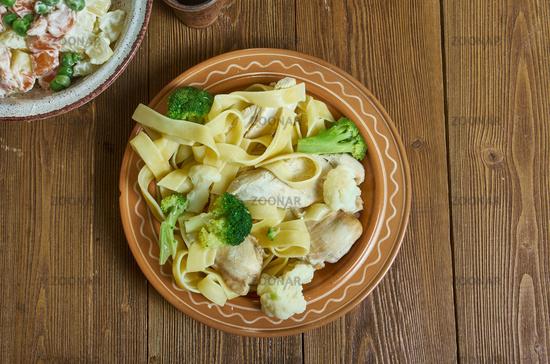 Tapenade chicken pasta