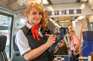 Kundenbetreuerin im Regionalverkehr