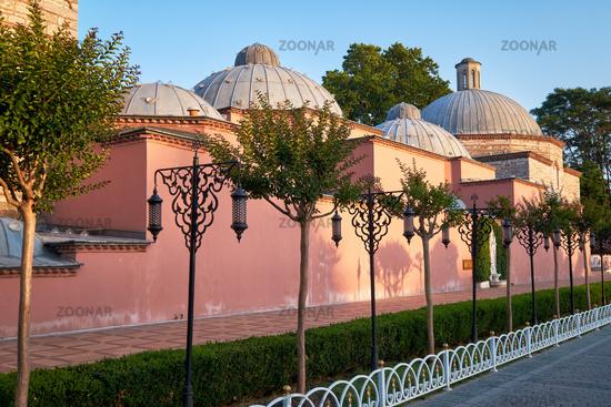 The bath of Roxelana (Ayasofya Hurrem Sultan Hamami). Istanbul. Turkey