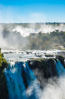 Iguazu Falls or Devils Throat