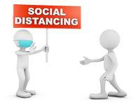 characters SOCIAL DISTANCING