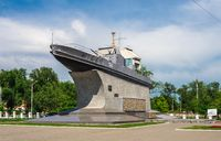 Monument to Danube Sailors in Izmail, Ukraine