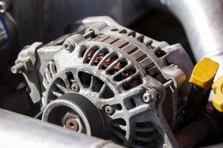 Alternator of a car