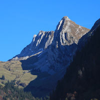 Bockmattlistock, mountain in Schwyz Canton, Switzerland.