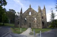 Ancient Church IN Port Arthur Tasmania Australia