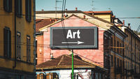 Street Sign to Art
