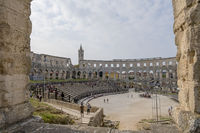 Römisches Amphitheater, Pula, Istrien, Kroatien