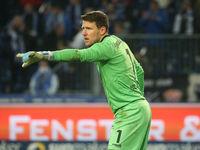 German soccer goalkeeper Rene Vollath Türkgücü Munich DFB 3rd league season 2020-21