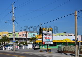 Street Scene on Anna Maria Island, Florida