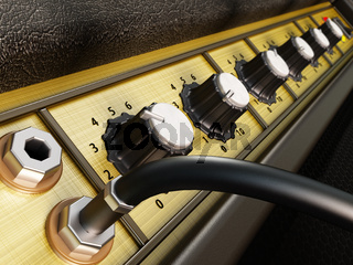 Amplifier detail