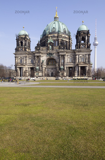 Cathedral and Television Tower, Berlin, Germany