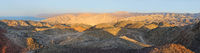 Mountains on the southern border of Israel (panorama)