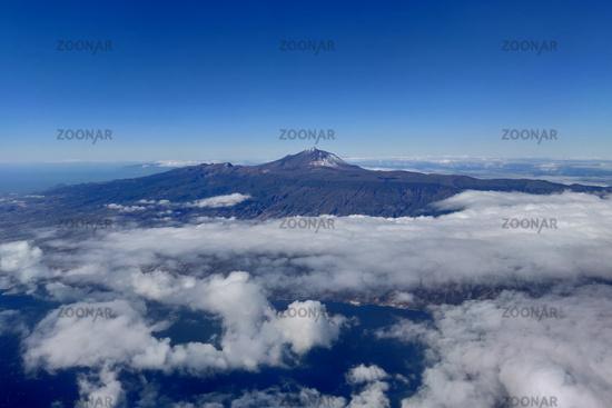 Aerial View Teide Tenerife