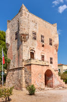 The tower of Markellos in Aegina
